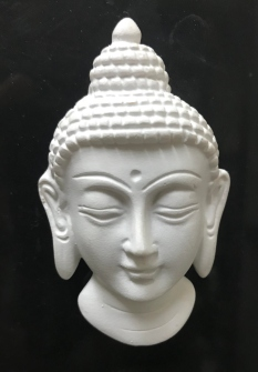 white Budha