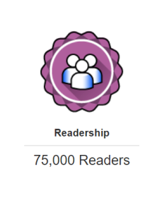 Tripadvisor 75000 readership