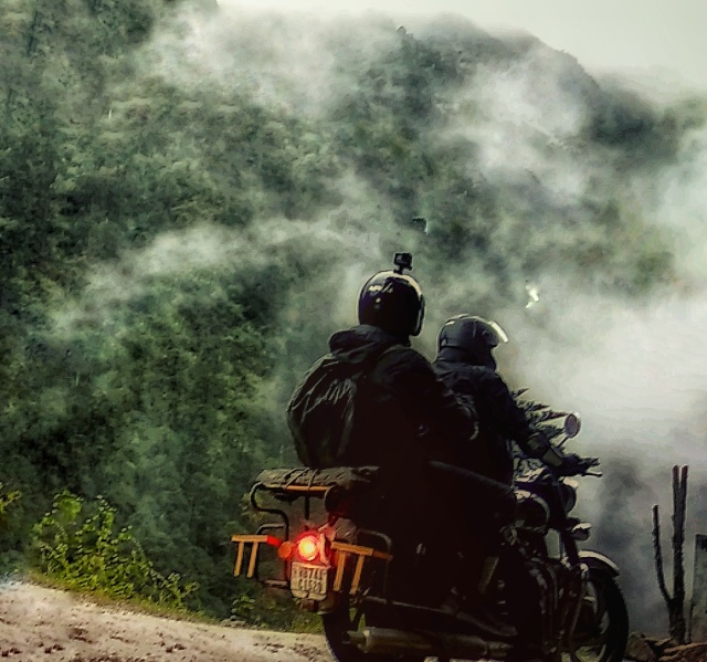 The Tale Of A Horrible Night (motorcycle Diaries - Chapter 2 )